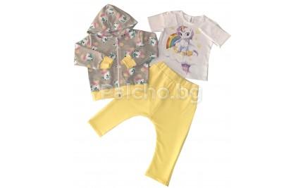 Комплект за момиче Пони 74-92