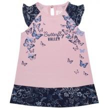 Лятна рокля Пеперуди 68-74