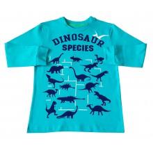 Блуза за момче Динозаври 86-134