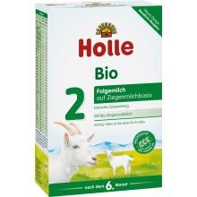 Holle 2 Bio Козе Мляко за бебета 6м+ 400гр.