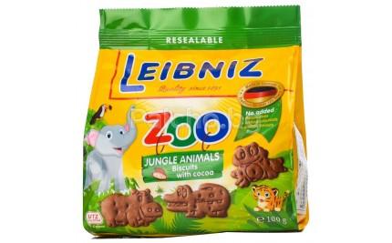 Leibniz Zoo Детски бисквити с какао 100гр