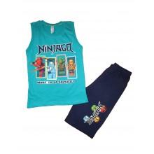 Летен комплект за момче Нинджаго 98-128