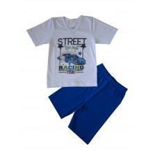 Пижама с къс ръкав за момче 86-116