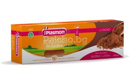 Plasmon Бишкоти с какао 12м+ 6х40гр.