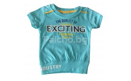 Бебешка тениска за момче 56-74