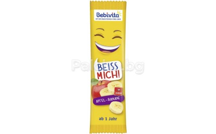 Bebivita Плодов бар Ябълка и Банан 25гр