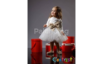 Контраст рокля Принцеса 74-122