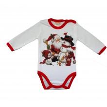 Коледно боди Дядо Коледа 62-86