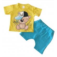 Летен бебешки комплект Мечо 62-80