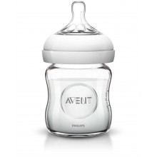Avent Шише стъкло Natural 120мл.