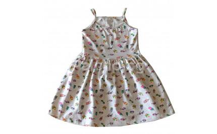 Лятна рокля Сладоледи 92-146
