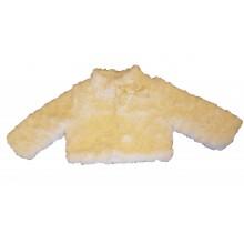 Пухкаво палтенце Контраст 68-92см
