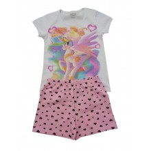 Лятна пижама за момиче Еднорог 98-152