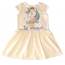 Лятна рокля Еднорог 92-116