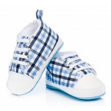 Бебешки обувки Attractive baby Синьо каре