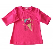 Детска блуза за момиче Сладолед 98-122