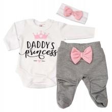 Бебешки комплект Daddy's Princess 56-74