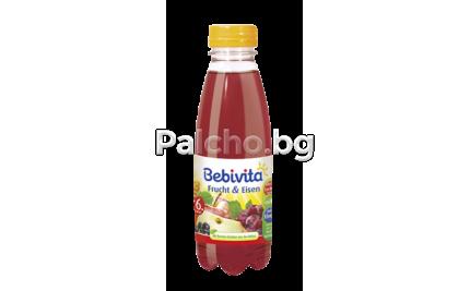 Бебивита сок - Bebivita Плодове с желязо 0,5л.