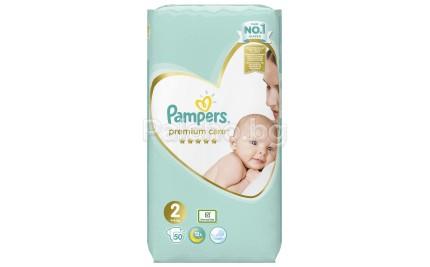 Pampers Premium Care 2 пелени 4-8кг. 50бр.