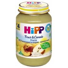 Хип Пълнозърнеста плодово-оризова каша 190гр.