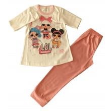 Пижама за момиче Лол кукла 92-128