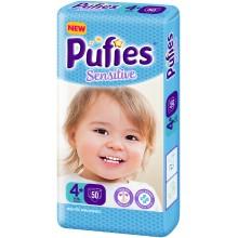 Pufies Sensitive 4+ пелени 9-16кг. 50бр.