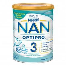 Нестле Нан 3 - Nestle Nan 3 Преходно мляко 12м+ 800гр.