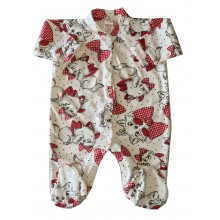 Бебешки гащеризон Коте 56-74