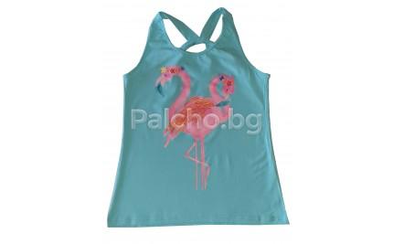 Летен топ за момиче Фламинго 128-152