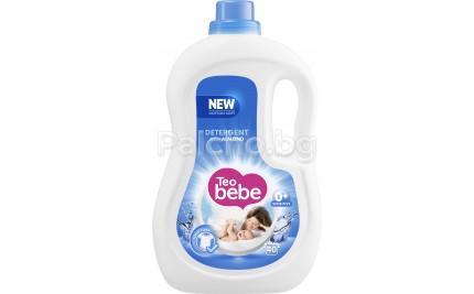 Тео бебе течен прах за бебета - Teo bebe Течен перилен препарат Бадем 2.2л.