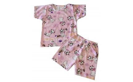 Детска лятна пижама Бел 86-128